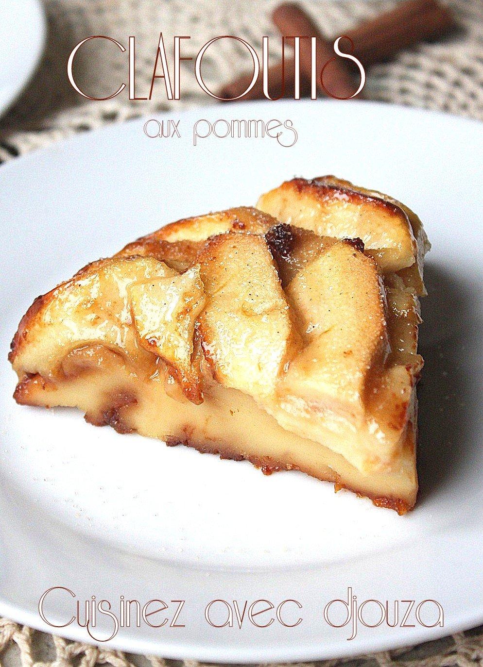 Clafoutis-aux-pommes (sauce caramel)