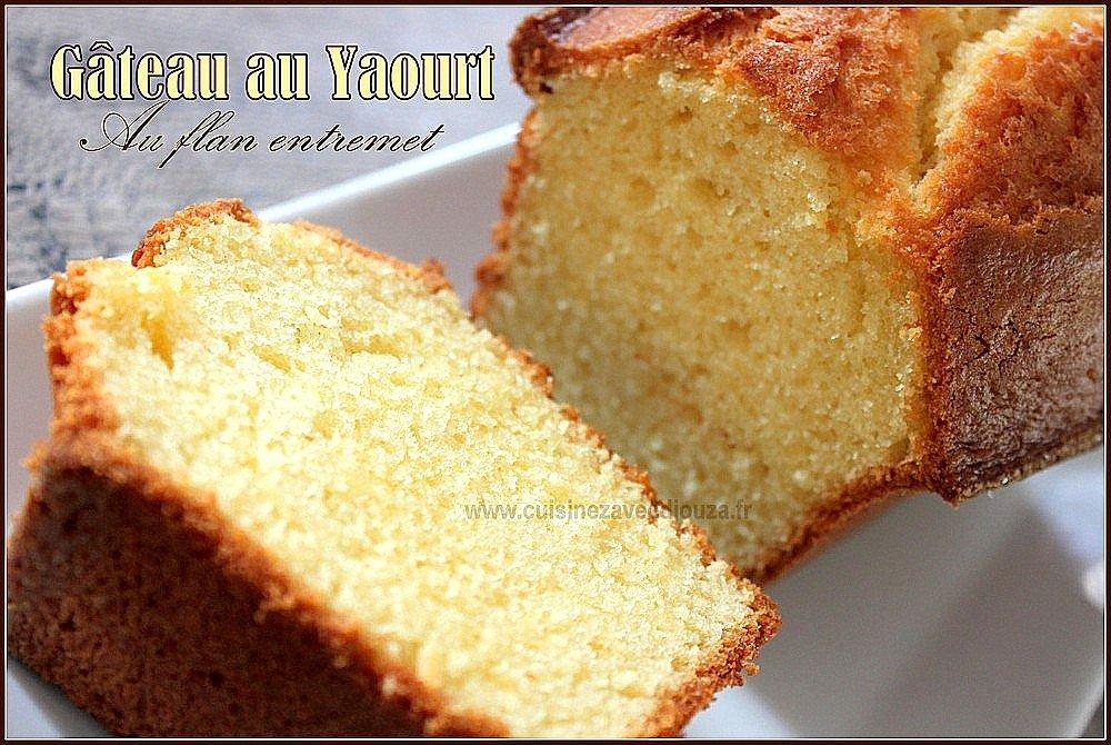 gateau-au-yaourt-au flan-entremet-vanille