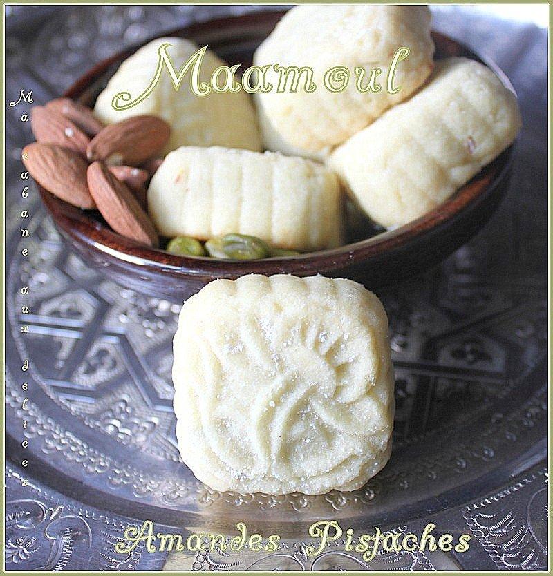Recette maamoul syrien pistache