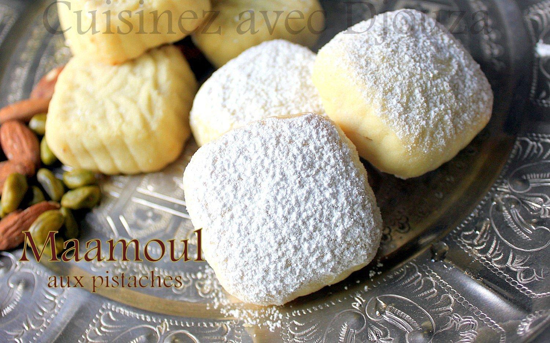 Maamoul recette aux pistaches