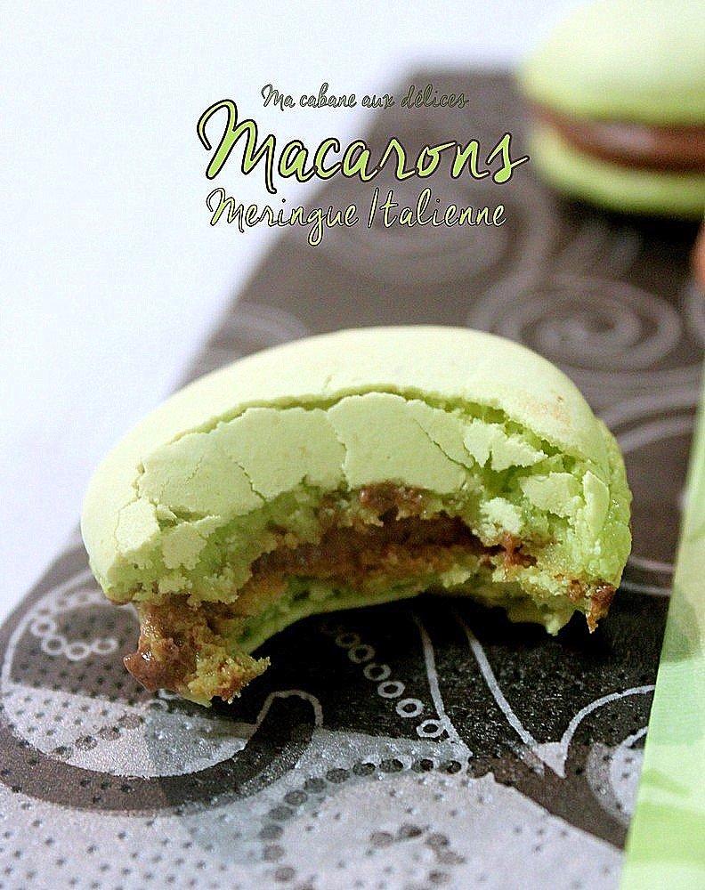 Recette macaron meringue italienne