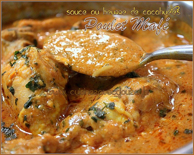 Mafé, recette au poulet