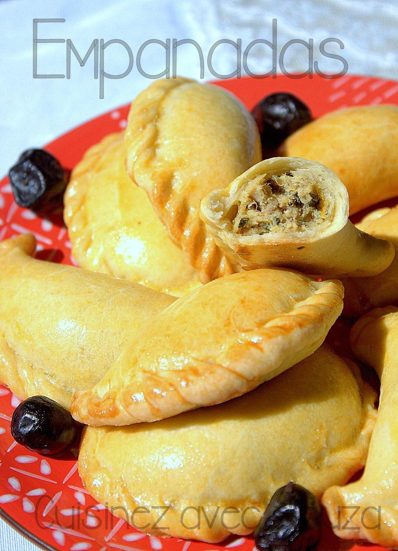 Empanadas recette, chaussons espagnols