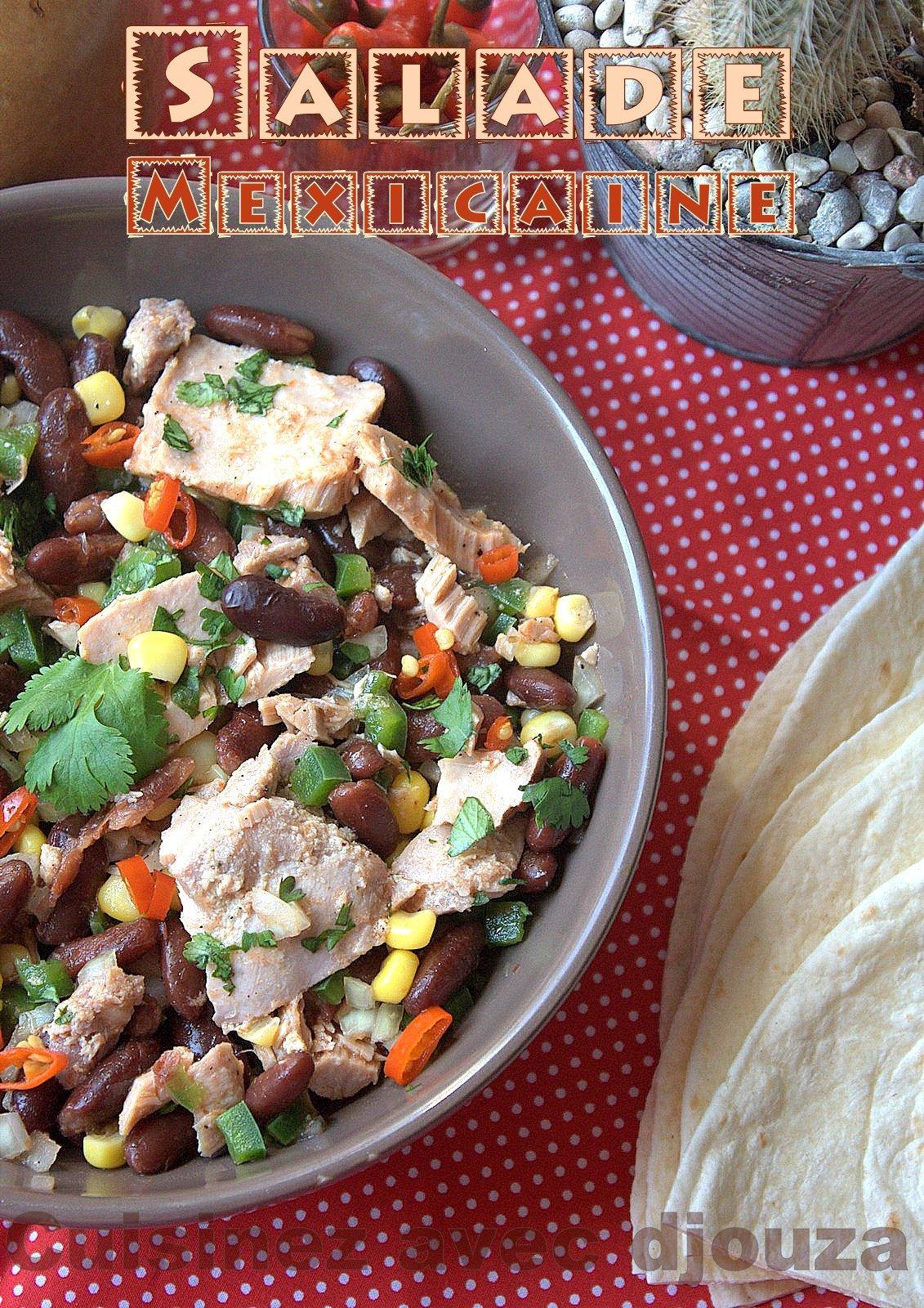 Salade aux haricots rouges et thon