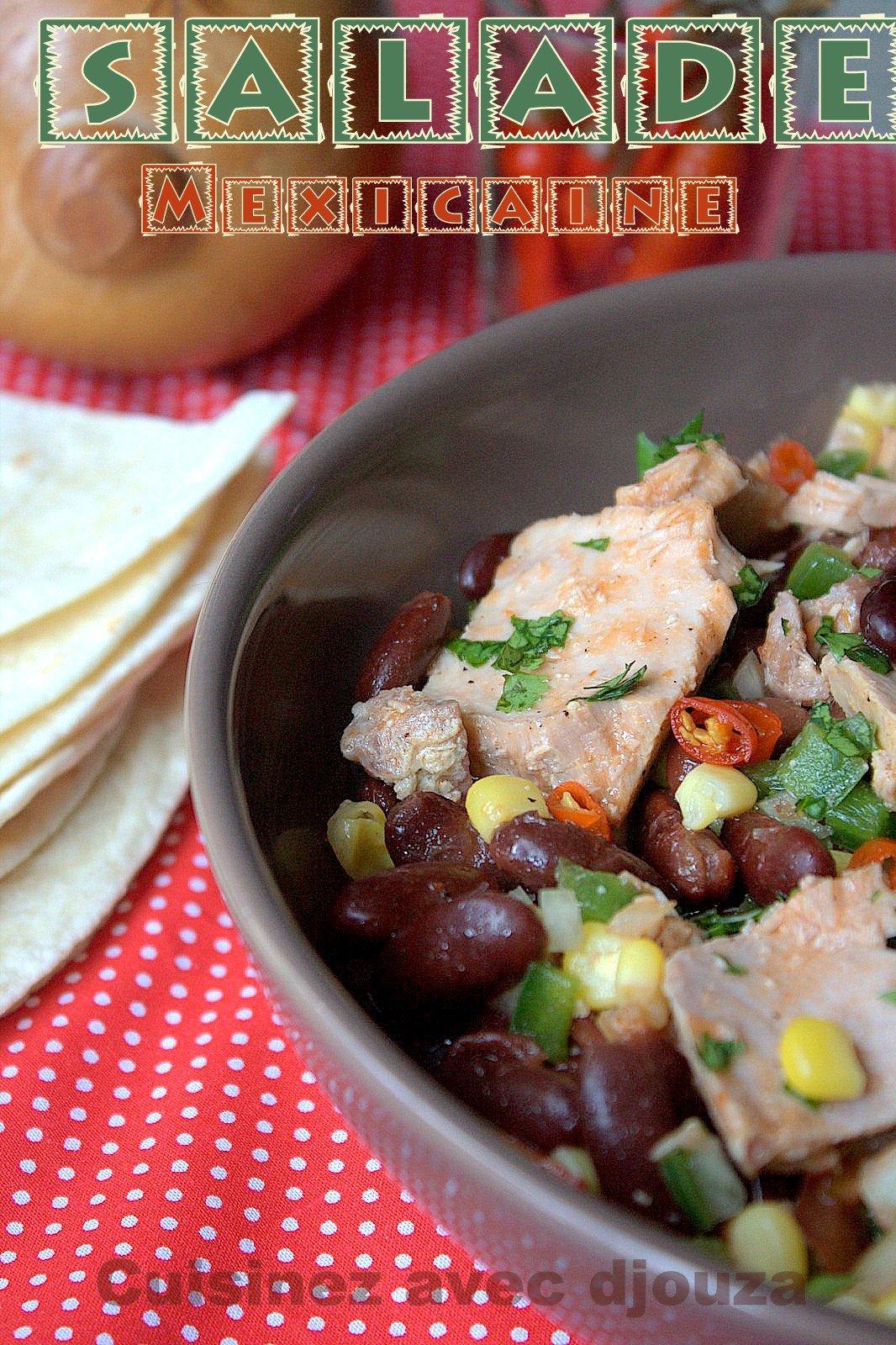 Recette salade au thon mexicaine