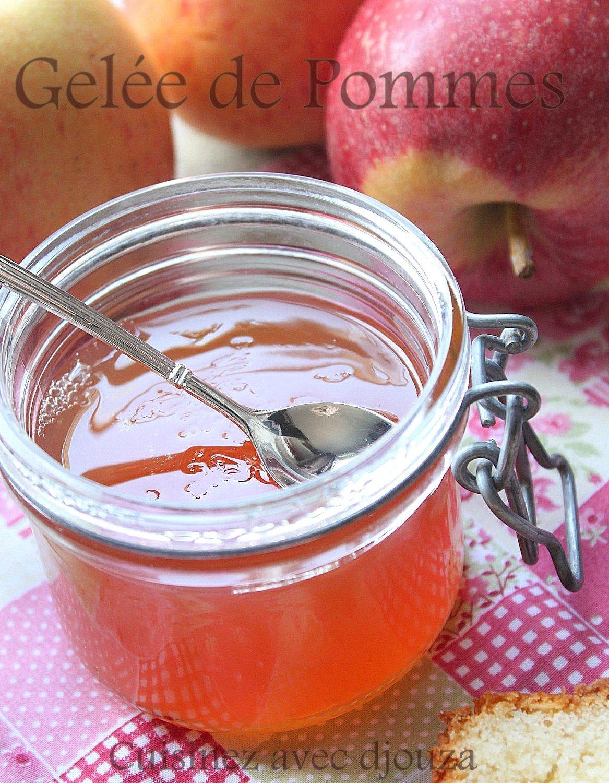 Recette de gelee aux pommes facile