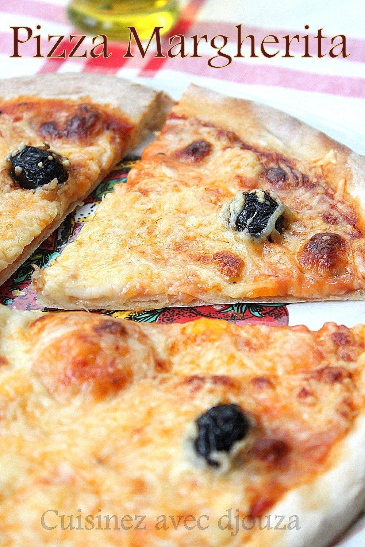 pizza margherita recette facile