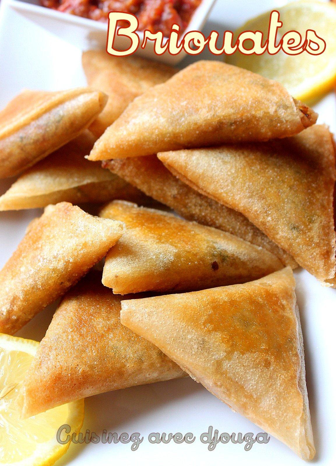 Recette briouates pour ramadan