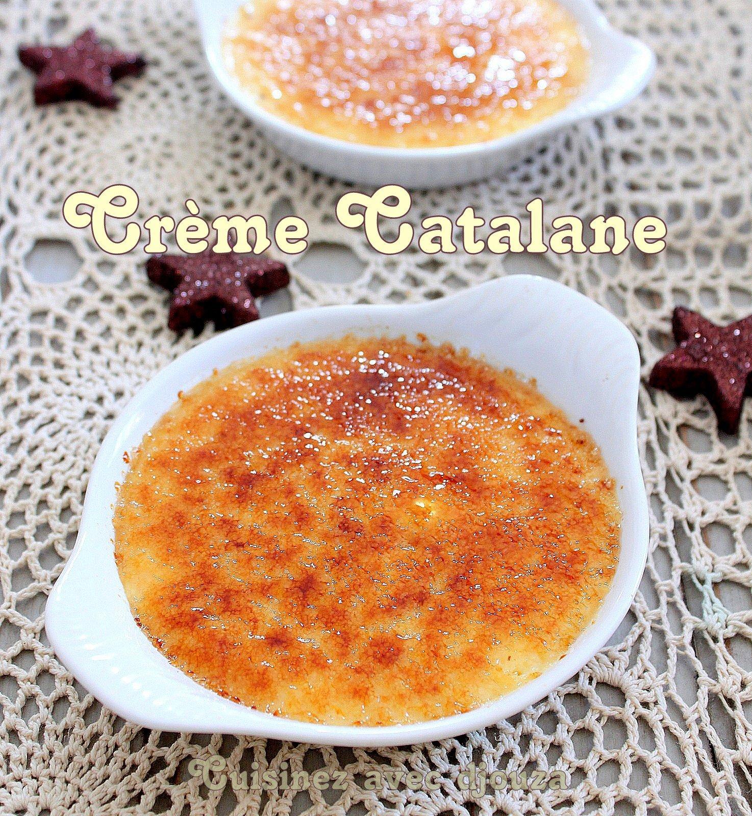 Crème catalane espagnole