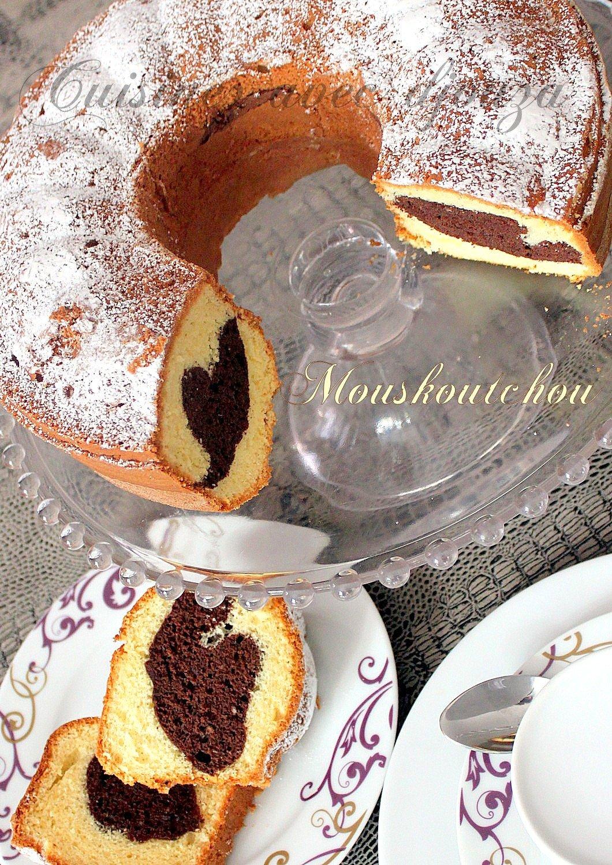 Mouskoutchou au chocolat gateau algérien