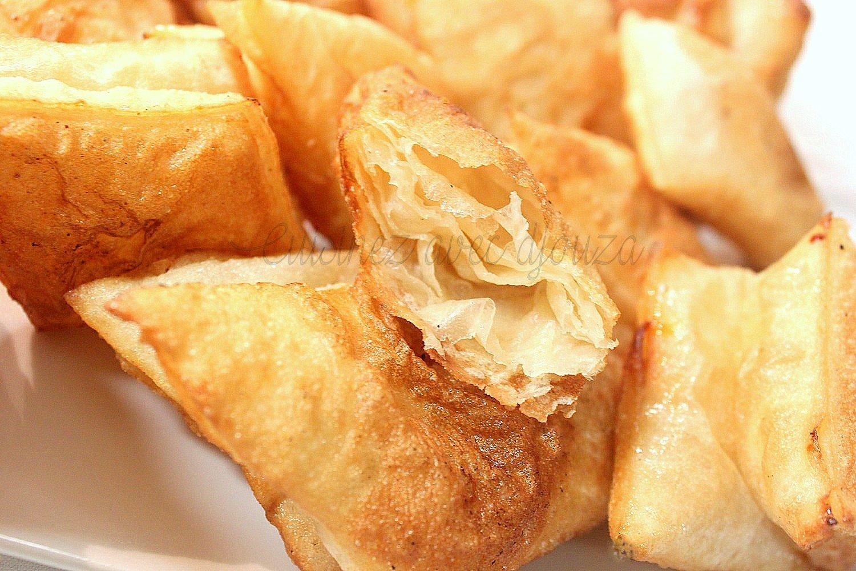 Msemen croustillant frit