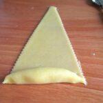 retirez le surplus de la pâte