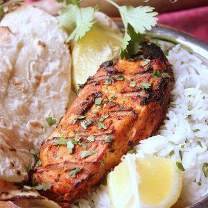 Poulet barbecue marinade à l'indienne