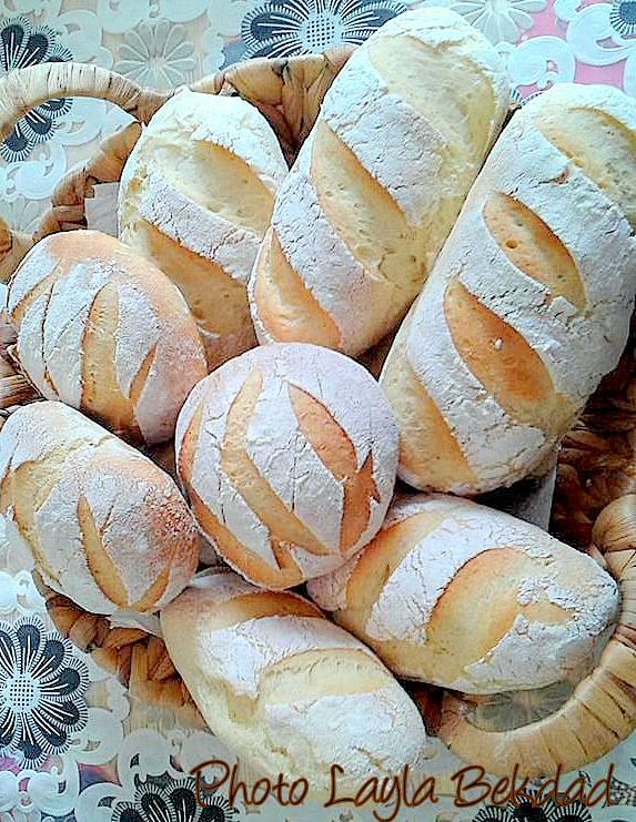 recette petit pain rond marocain au four recettes