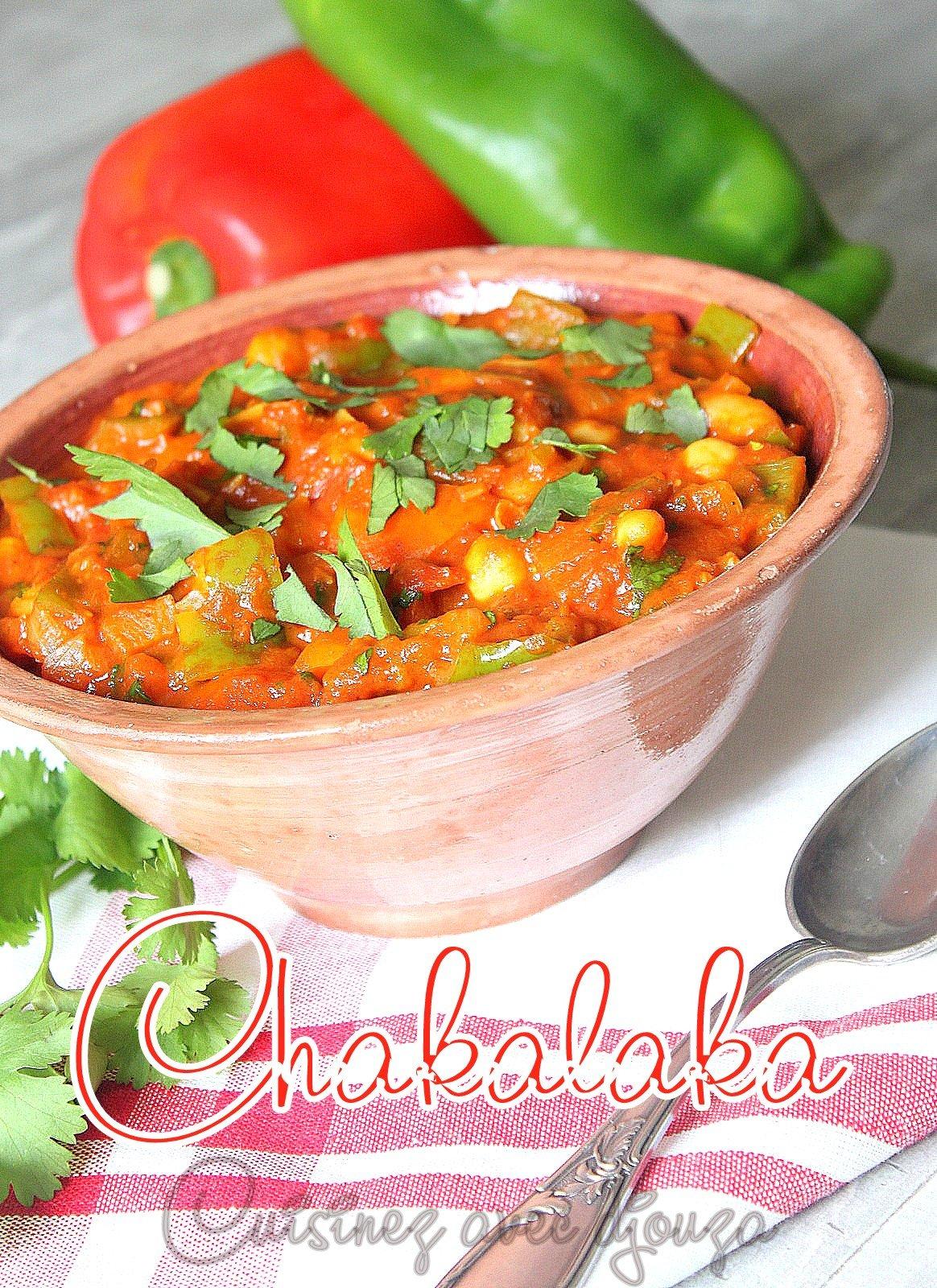 Chakalaka poivrons tomates recette sud africaine
