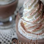 Chocolat liegeois au mascarpone