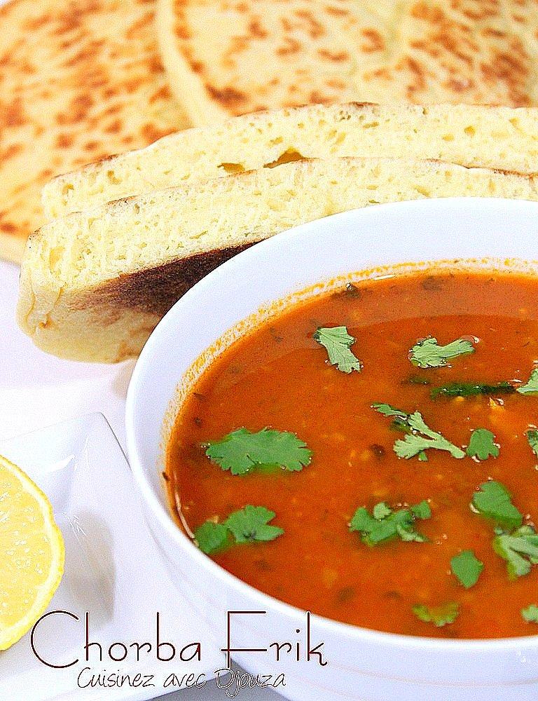 Chorba frik soupe algérienne
