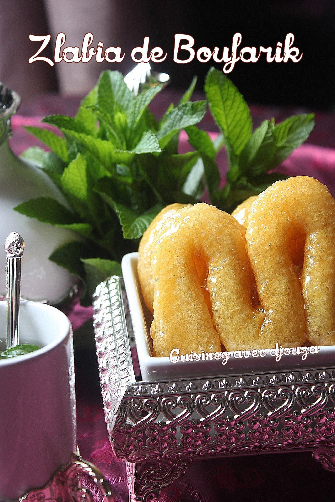 Zlabia de Boufarik à la semoule, recette algérienne
