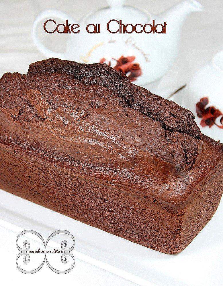 gateau ou cake au chocolat