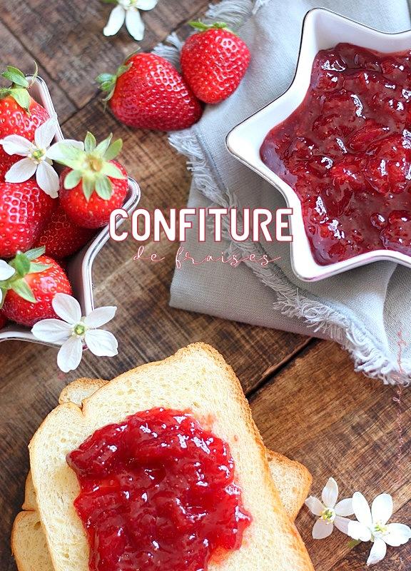 Recette confiture de fraises a l'agar agar