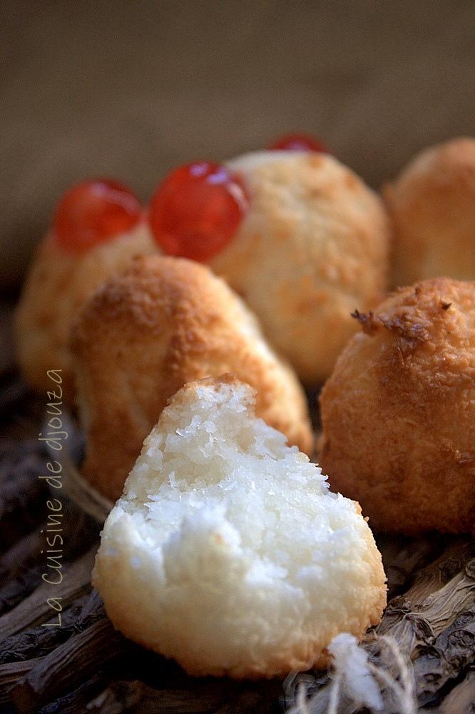 petits gâteaux congolais noix de coco
