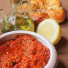 Caviar de tomates fraiches