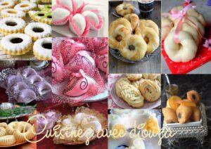 Gâteaux algériens pour l'aid