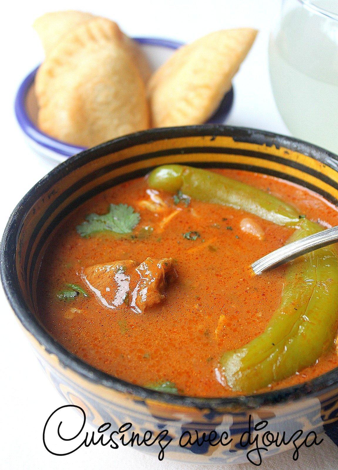 Recette soupe oranaise hrira