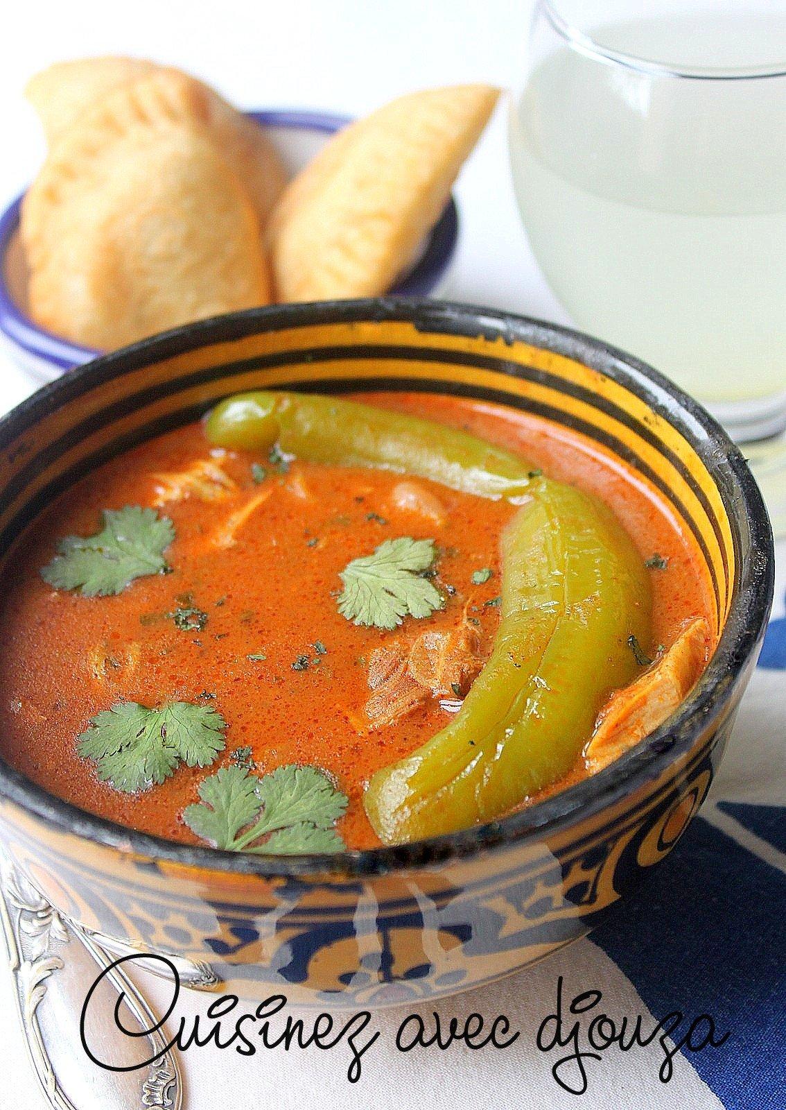 recette de la harira oranaise