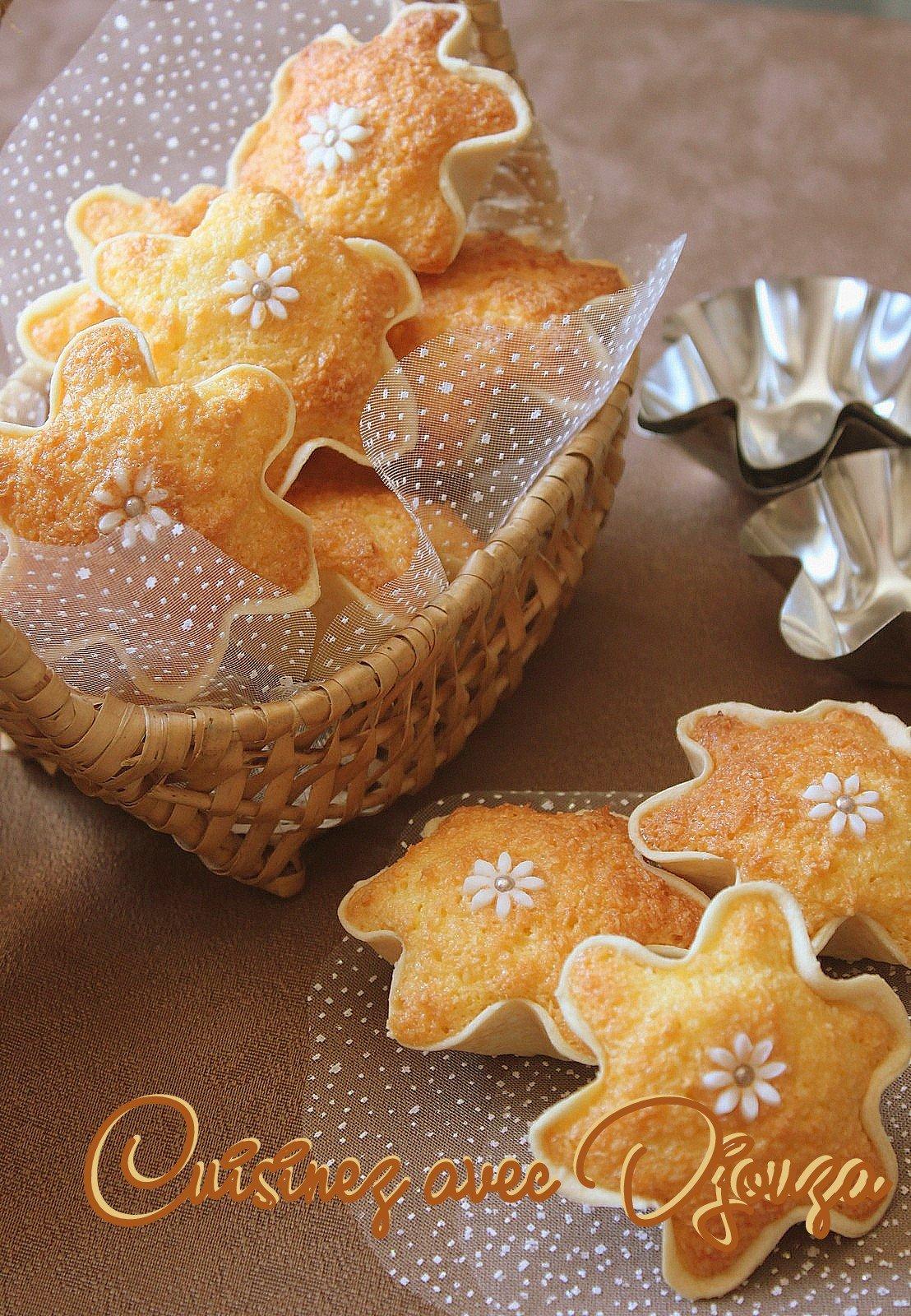 Gâteau knidlette noix de coco