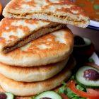 Beignets turcs salés à la viande hachée