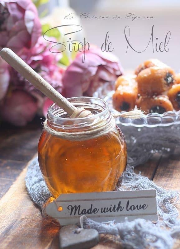 Sirop de miel maison