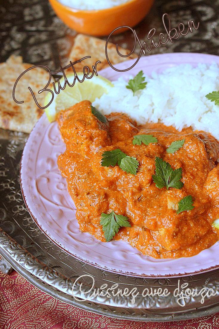 Poulet indien au beurre, le butter chicken