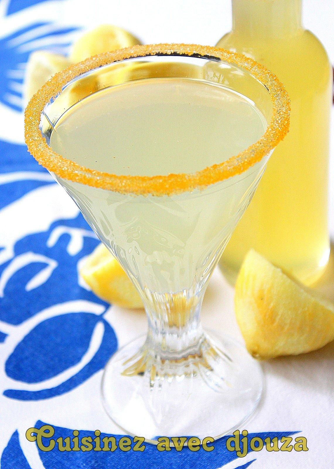 Cherbet au citron limonade