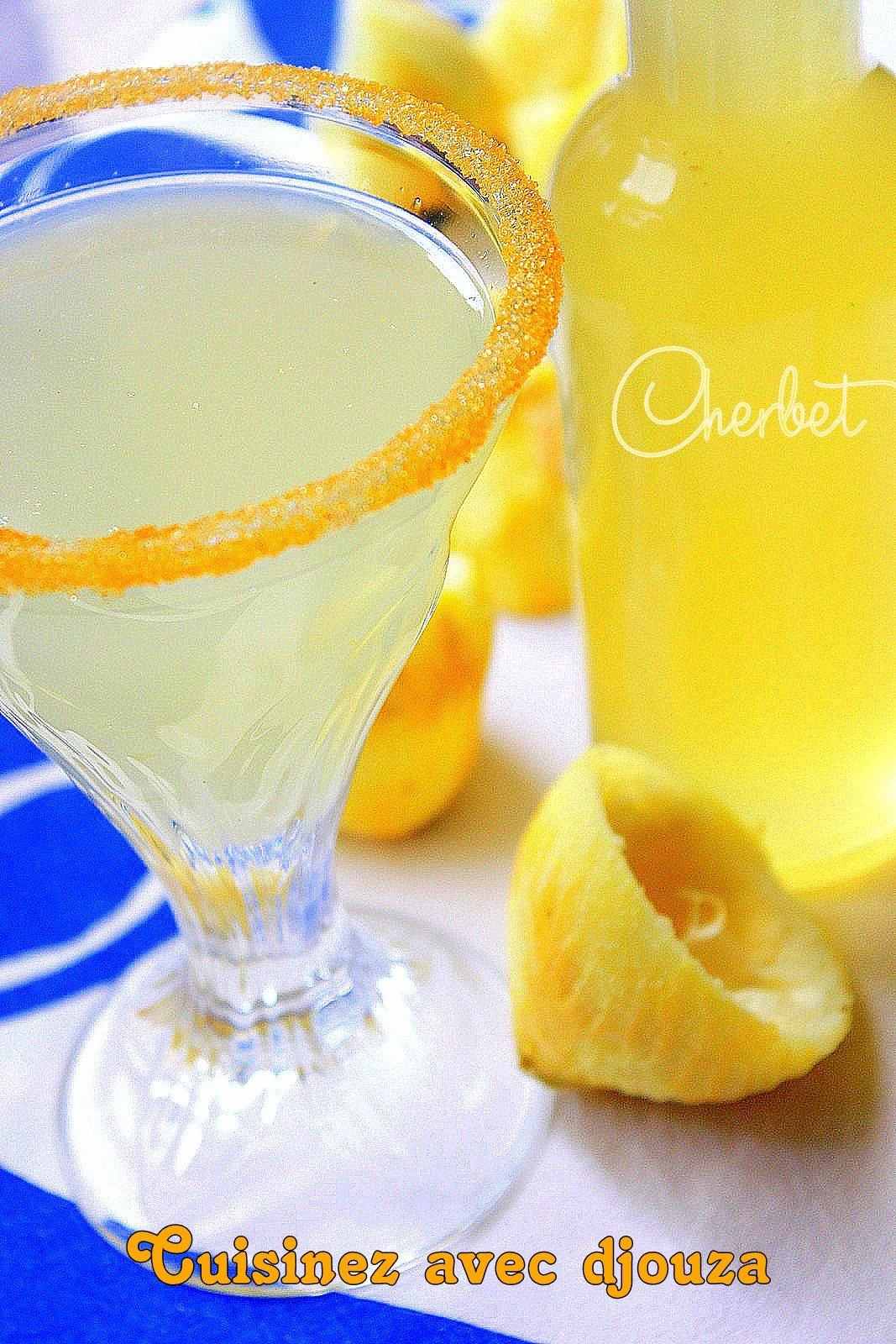 Citronnade algérienne cherbet