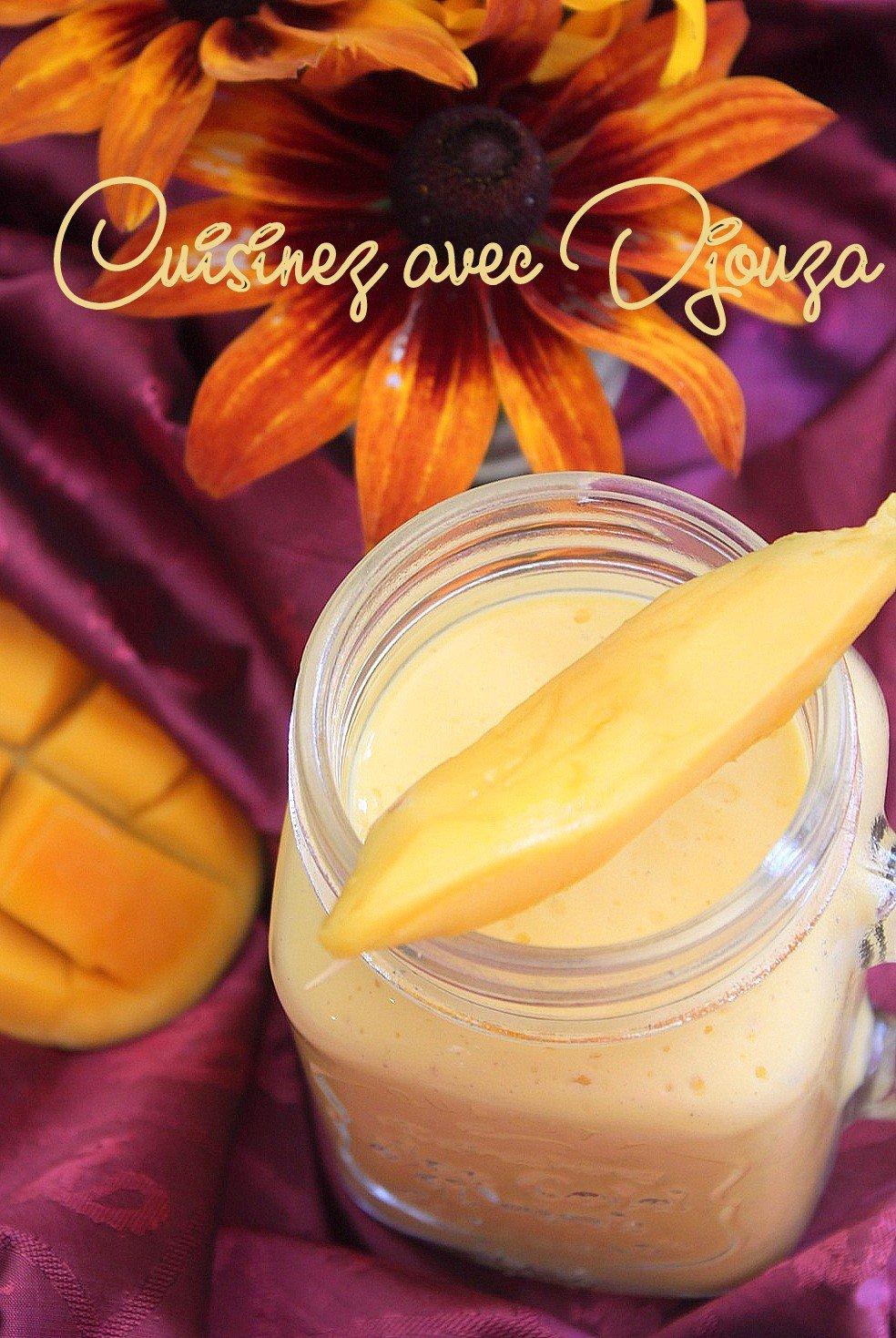 Lassi boisson indienne pulpe de mangue