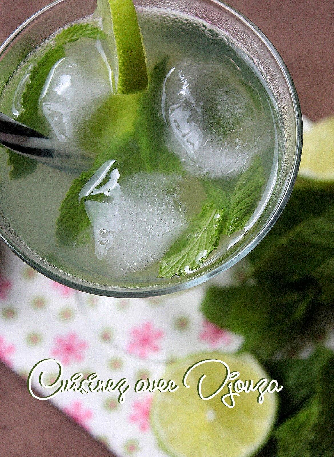 Cocktail fait maison sans alcool faire une limonade au for Alcool de menthe fait maison