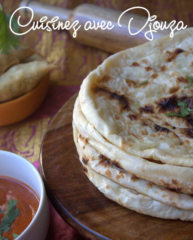Recette naan cuisine indienne