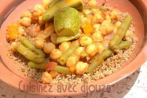 Couscous semoule d'orges aux légumes