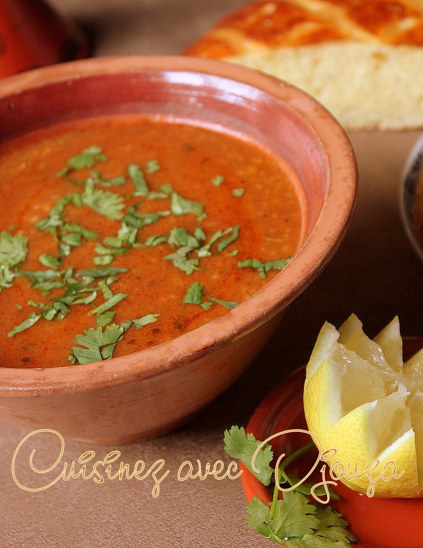 Recettes de chorba soupe ramadan