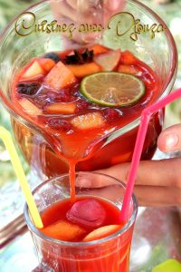 Sangria sans alcool facile