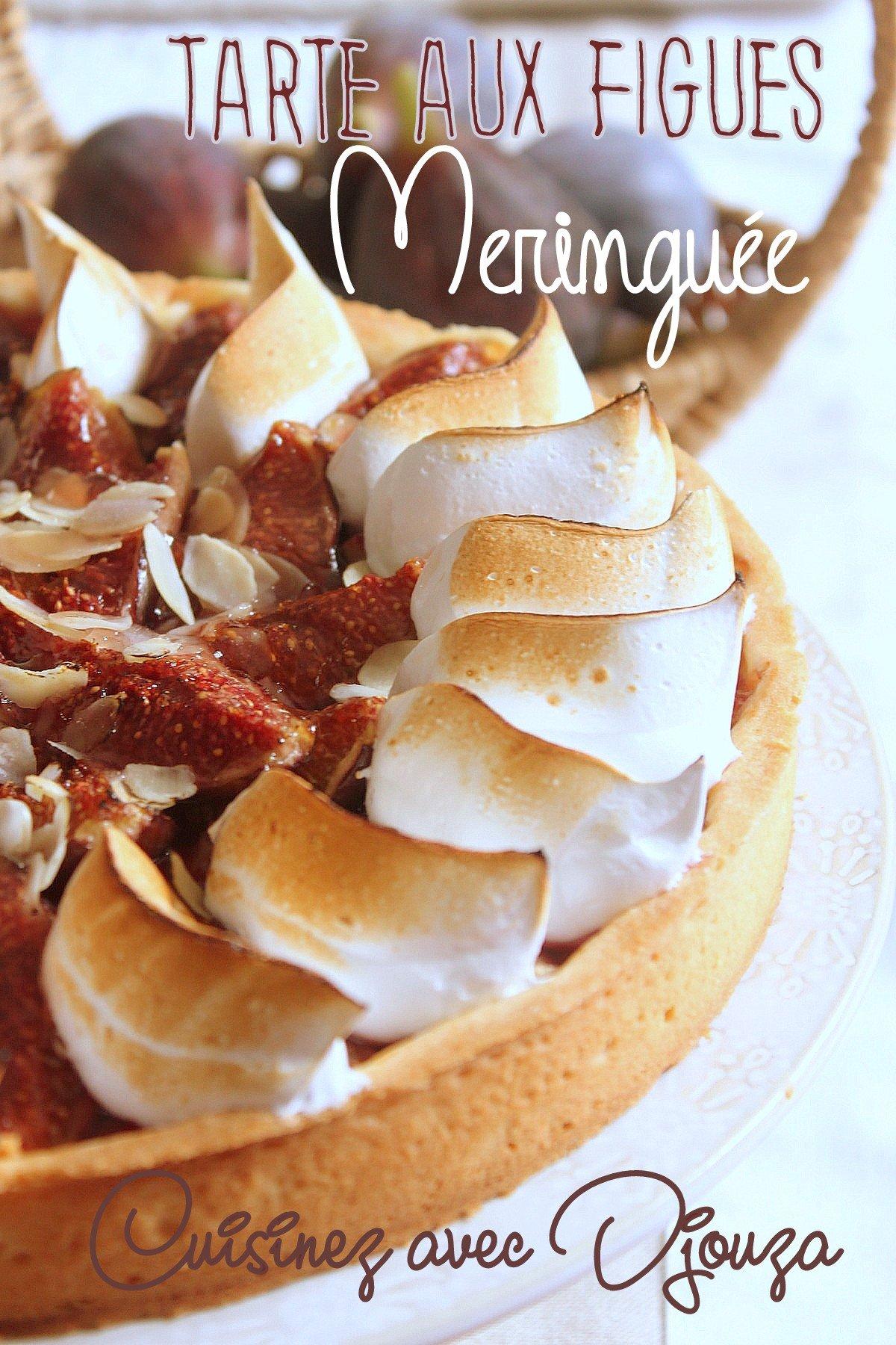 Recette tarte figue crème patissière