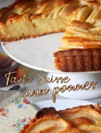 Recette de tarte suisse pomme