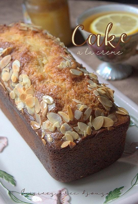 Cake crème fraiche épaisse & fruits confits
