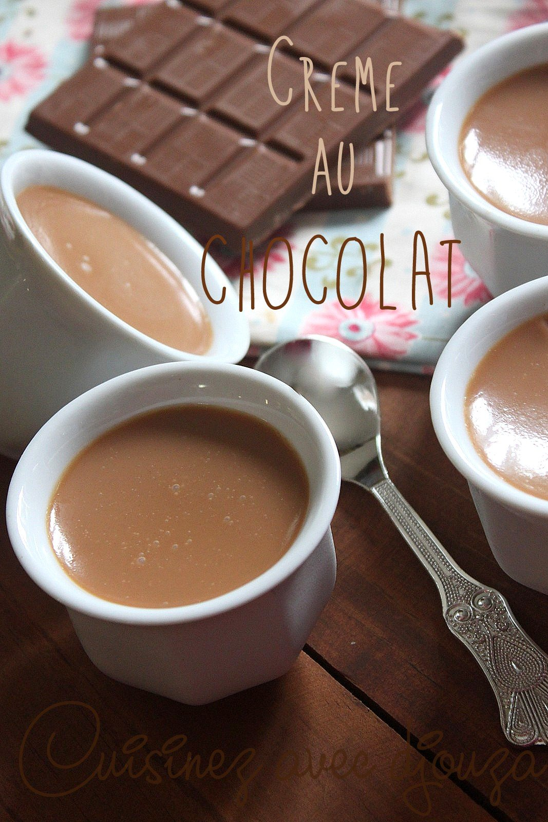 Creme chocolat onctueuse 2 ingrédients