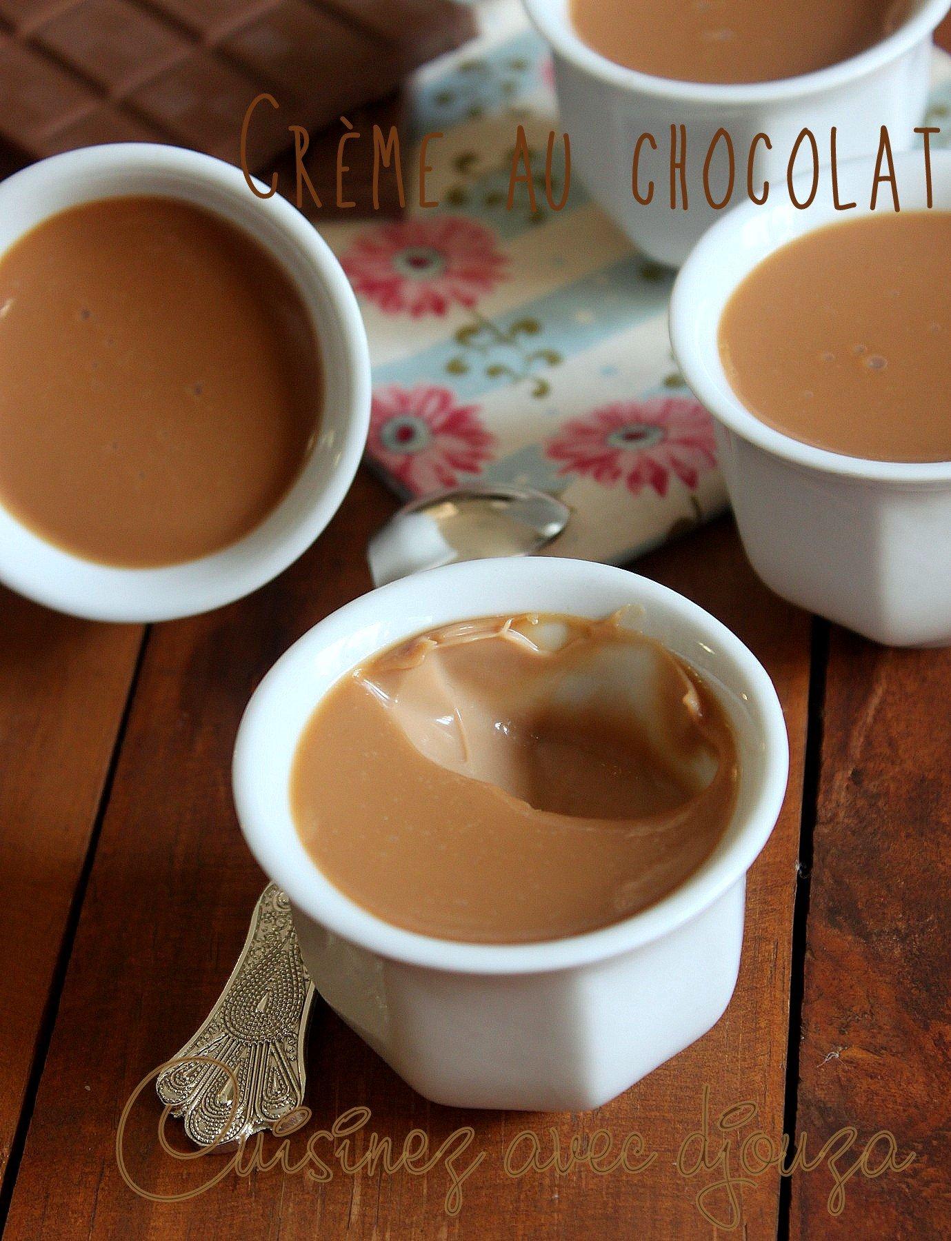 Faire une crème au chocolat facile
