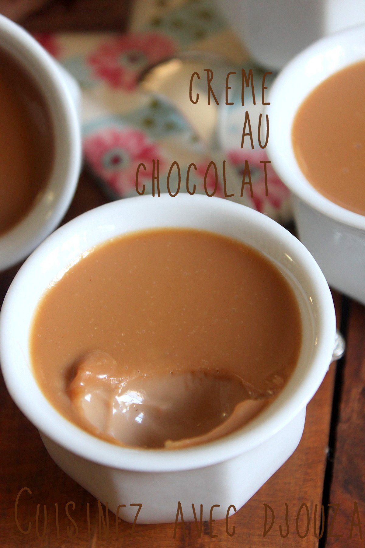Creme au chocolat facile