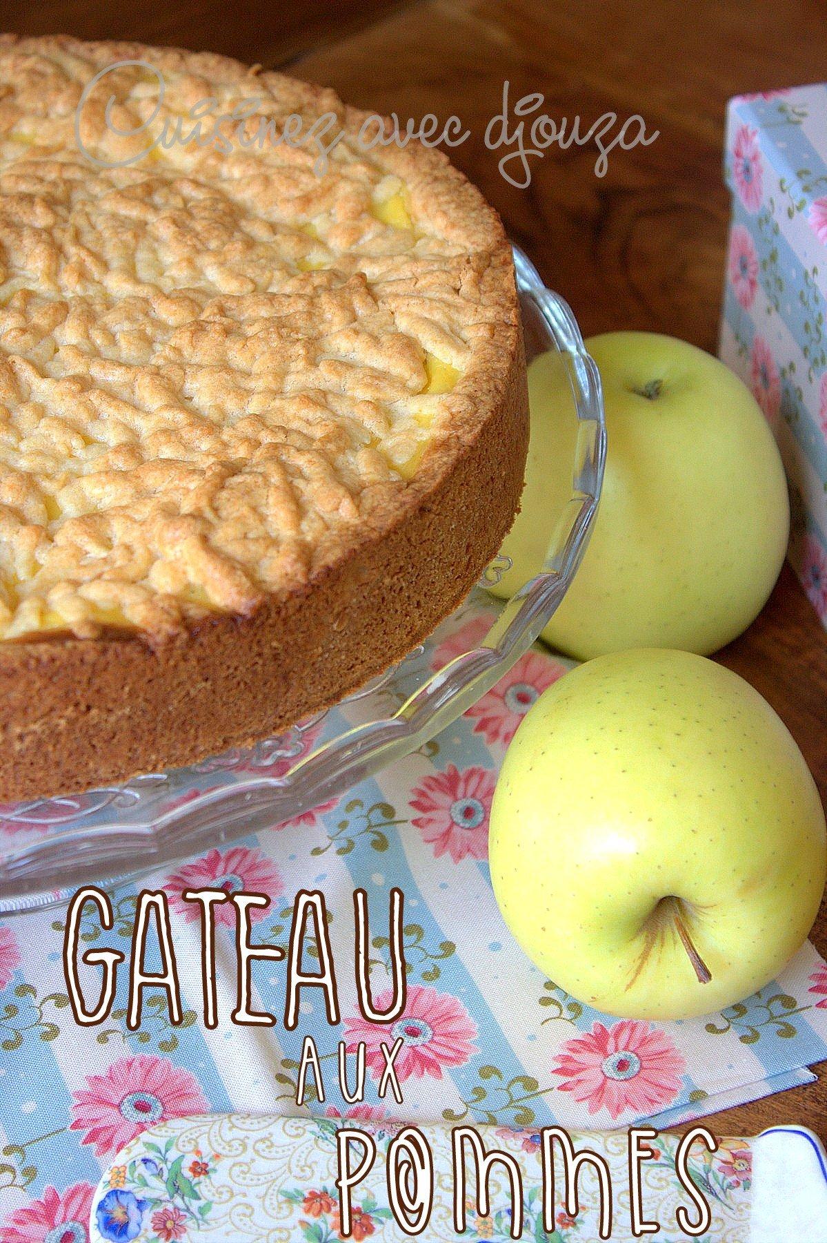 Recette de gâteau à la pomme