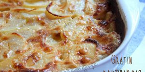 Gratin dauphinois traditionnel facile