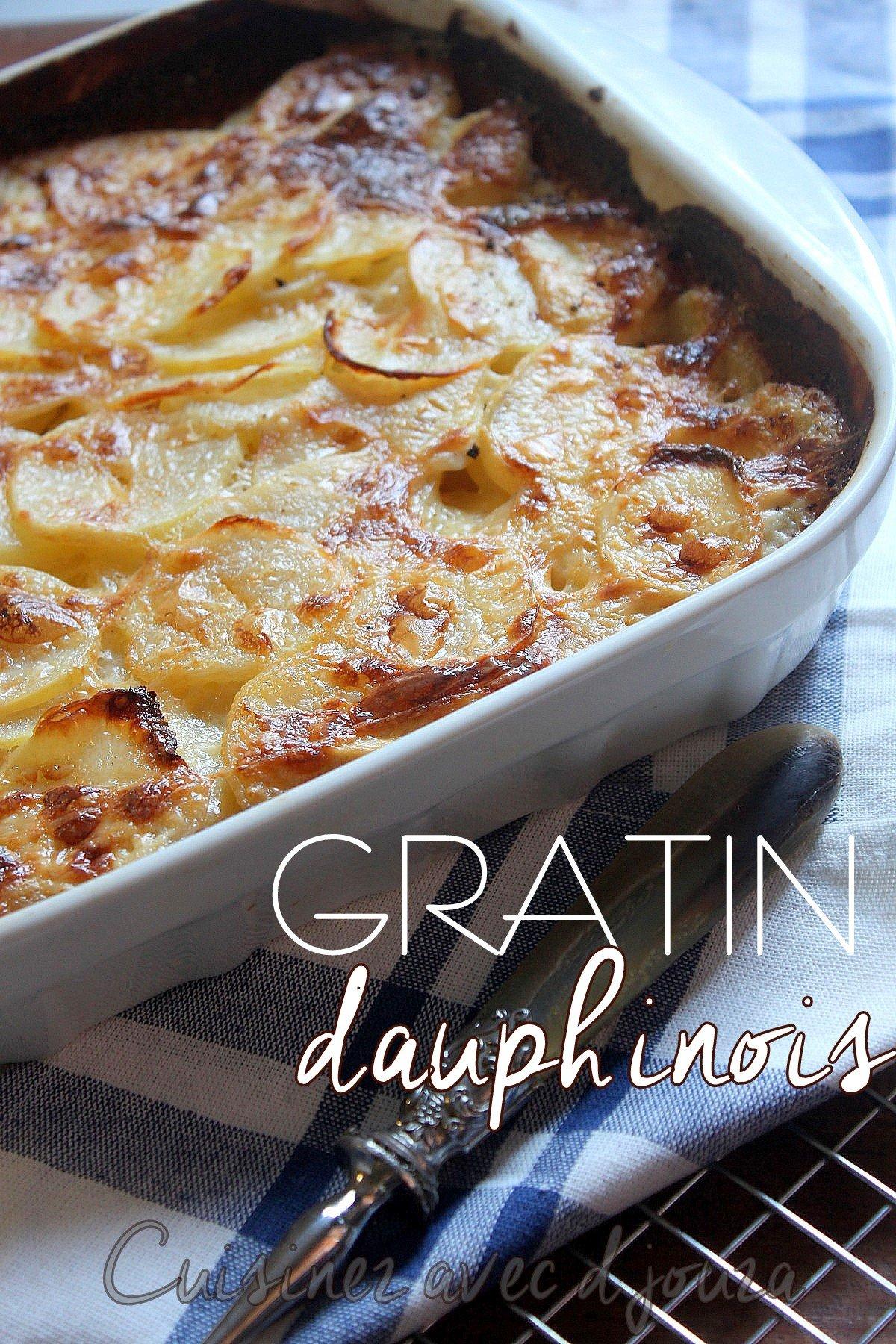 la vraie recette du gratin dauphinois